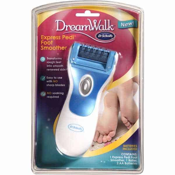 Dr. Scholl's DreamWalk Express Pedi Foot Smoother Printable Coupon