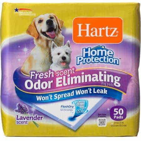 Hartz Home Protection Odor Eliminating Dog Pads 50ct Printable Coupon