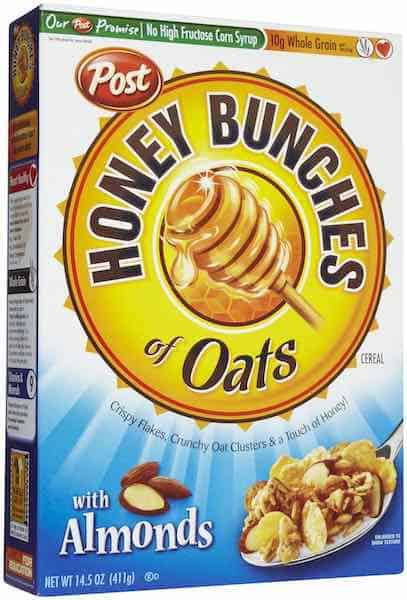 Honey Bunches of Oats Cereals Printable Coupon