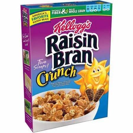 Kellogg's Raisin Bran Crunch Cereal Printable Coupon
