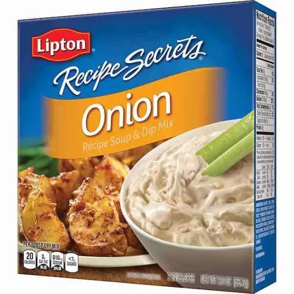 Lipton Recipe Secrets Printable Coupon