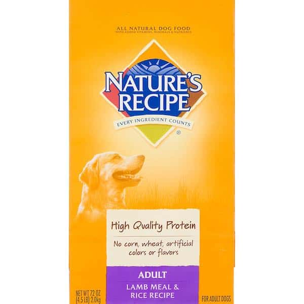 Nature's Recipe Pet Products Printable Coupon