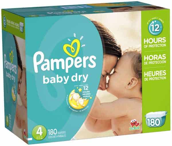Pampers Baby Dry Diapers Printable Coupon