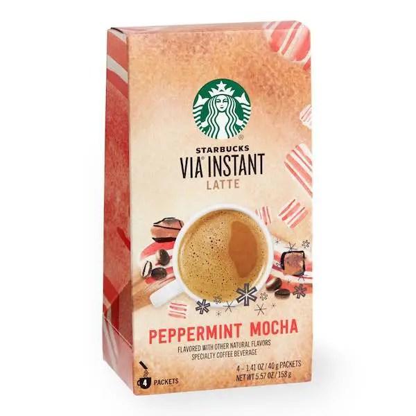 Starbucks VIA Peppermint Mocha Latte Printable Coupon