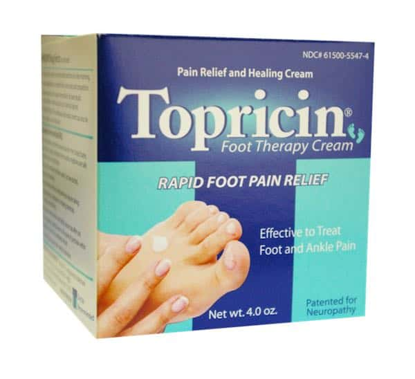 Topricin Foot Therapy Cream Printable Coupon