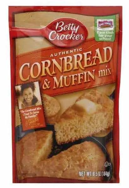 Betty Crocker Cornbread & Muffin Mix Printable Coupon