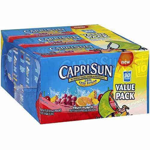 CAPRI SUN Juice Drink 30pk Printable Coupon