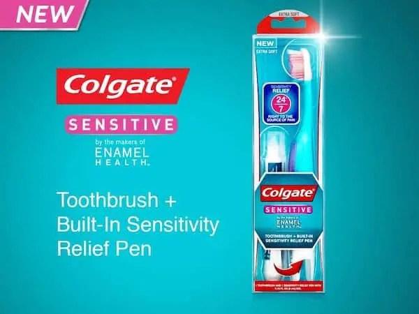 Colgate Sensitive Brush+Pen Toothbrush Printable Coupon