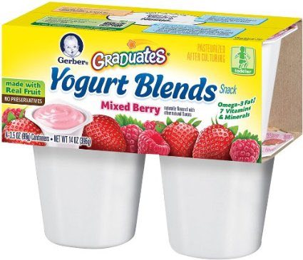 Gerber or Graduates Yogurt Blends Items Printable Coupon