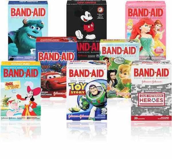 Kids Character Band-Aids Printable Coupon