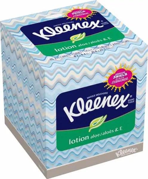 Kleenex Lotion 75ct Tissue Boxes Printable Coupon