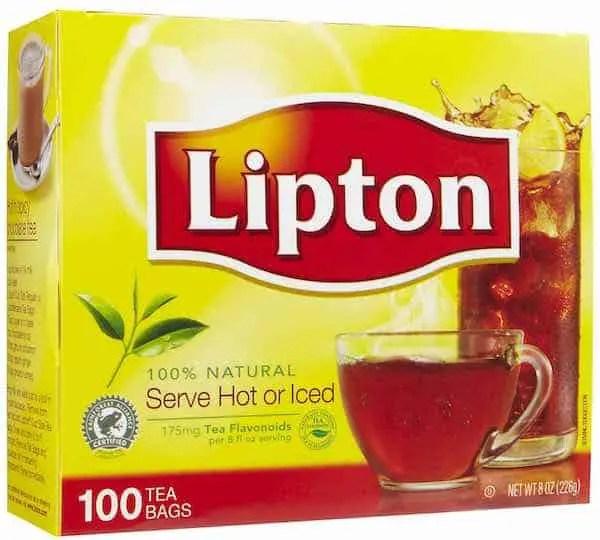 Lipton Tea Bags 100ct Printable Coupon