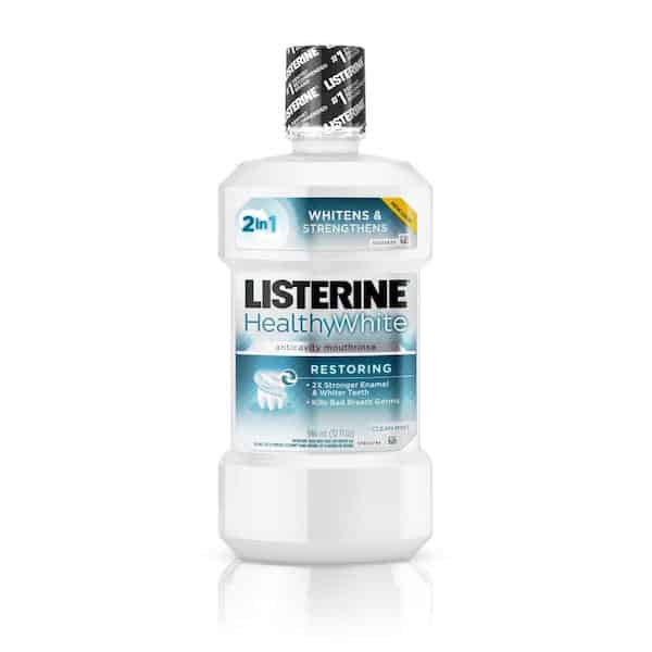 Listerine Healthy White Rinse Printable Coupon