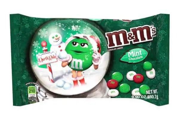 M&M's Holiday Bag Printable Coupon