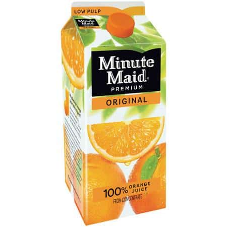 Minute Maid Orange Juice 59oz Carton Printable Coupon