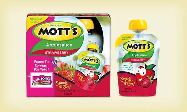 Mott's Applesauce Pouches Printable Coupon