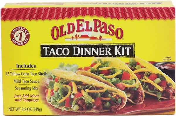 Old El Paso Taco Shells Printable Coupon New Coupons And Deals Printable Coupons And Deals