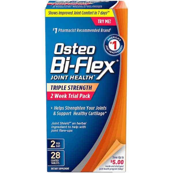 Osteo Bi-Flex Joint Health Triple Strength Tablets 28ct Printable Coupon