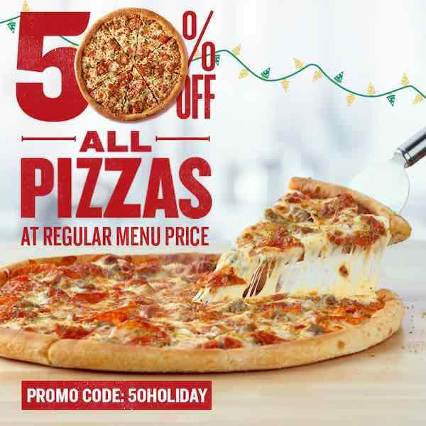 Pizza Night Get 50 Off All Pizzas At Papa John S With Promo Code New Coupons And Deals Printable Coupons And Deals