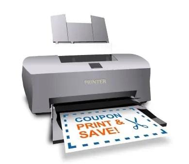Printer Printable Coupon