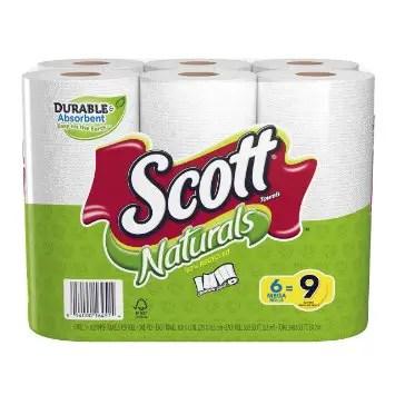 Scott Naturals Paper Towel Rolls 6ct Printable Coupon