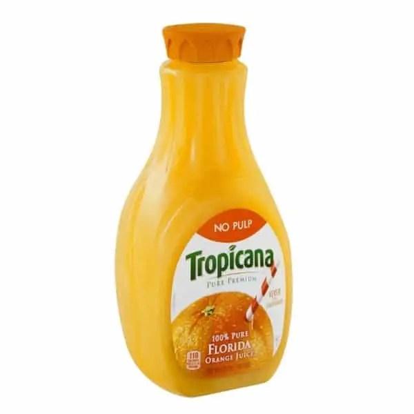Tropicana Pure Premium Orange Juice 59oz Printable Coupon