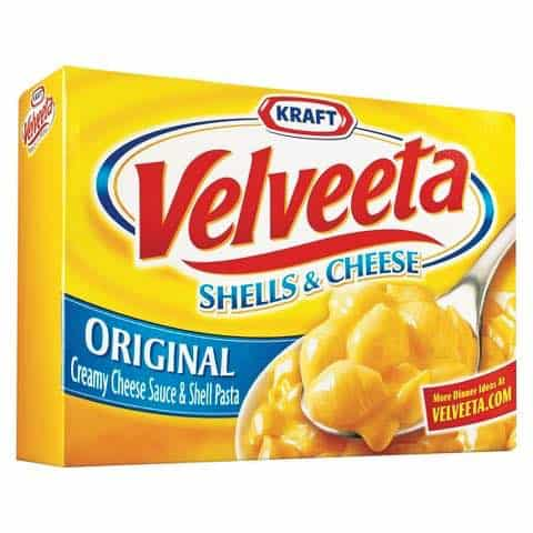 VELVEETA Shells & Cheese Dinner Printable Coupon