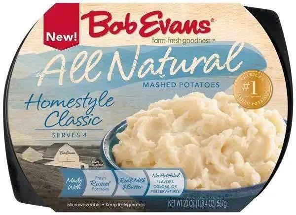 Bob Evans All Natural Side Dish Printable Coupon