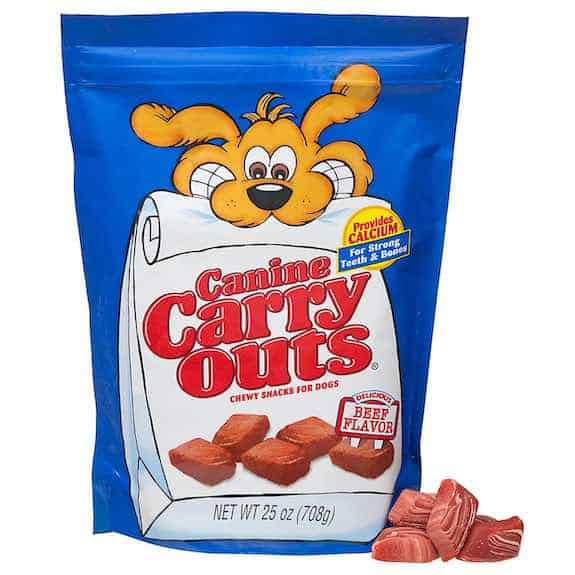 Canine Carry Outs Dog Snacks Printable Coupon
