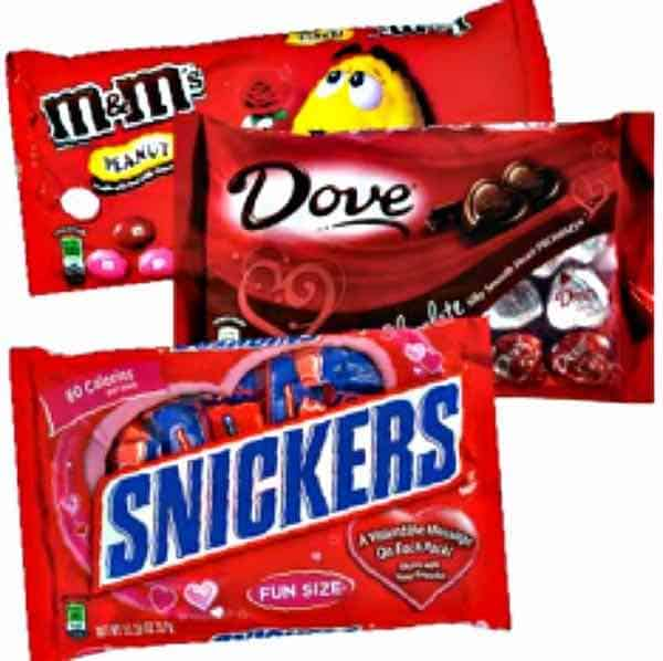 Mars Valentine's Day Candy Printable Coupon