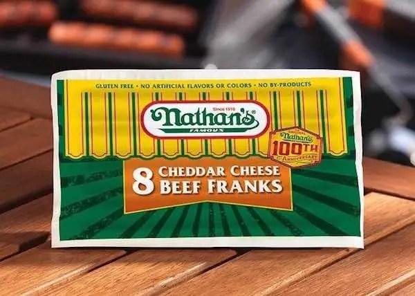 Nathan's Famous Cheddar Beef Franks Printable Coupon