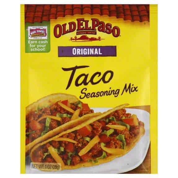 Old El Paso Taco Seasoning Mix Printable Coupon New Coupons And Deals Printable Coupons And Deals