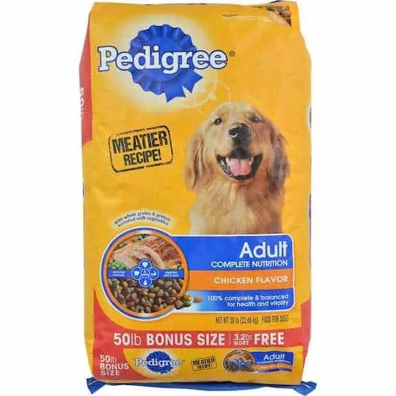 Pedigree Dry Dog Food 50lbs Printable Coupon
