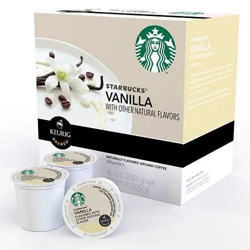 Starbucks Flavored K-Cup Pods Printable Coupon