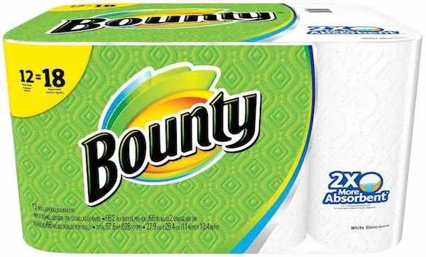 Bounty Giant Rolls 12pk