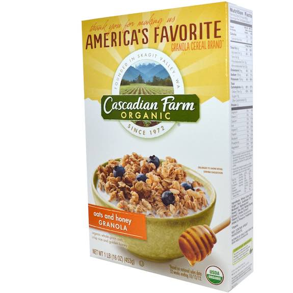 Cascadian Farm Cereal Printable Coupon