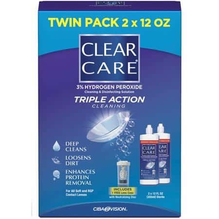 Clear Care Solution Twin Pack Printable Coupon