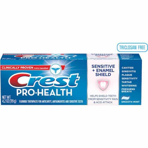 Crest Pro-Health Sensitive + Enamel Shield Toothpaste 4.2oz Printable Coupon