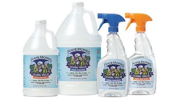 Four Monks Cleaning Vinegar Product Printable Coupon