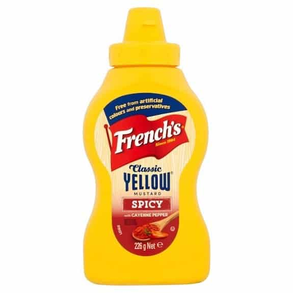 French's Classic Yellow Spicy Mustard Printable Coupon