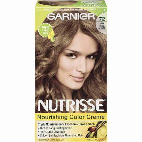 Garnier Nutrisse Hair Color Product Printable Coupon