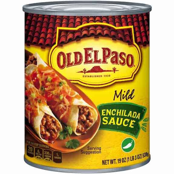 Old El Paso Enchilada Sauce Printable Coupon