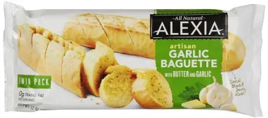 Alexia Bread Garlic Baguette Printable Coupon