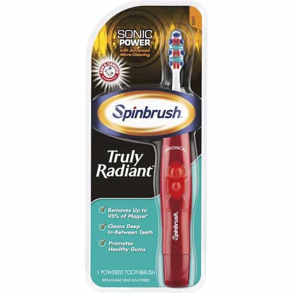 Arm & Hammer Spinbrush Power Toothbrush Printable Coupon