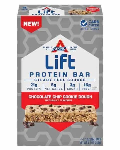 Atkins Lift Protein Bar 4ct Pack Printable Coupon