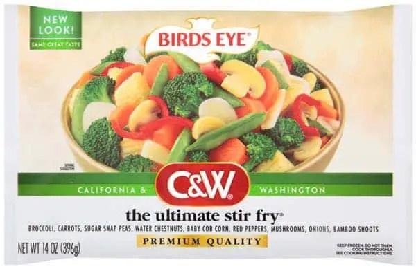 Bird's Eye C&W Vegetable Variety 14oz Printable Coupon