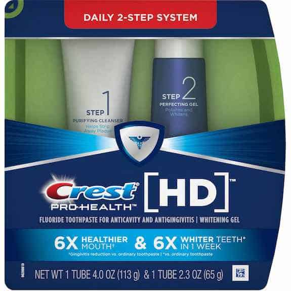 Crest Pro-Health HD 2-Step System Printable Coupon