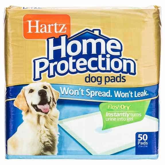 Hartz Ultimate Absorption Dog Pads Printable Coupon
