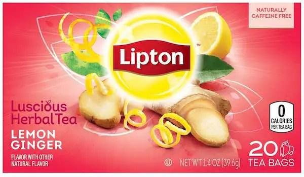 Lipton Herbal Tea 20ct Printable Coupon