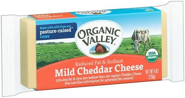 Organic Valley Mild Cheddar Block of Cheese 8oz Printable Coupon